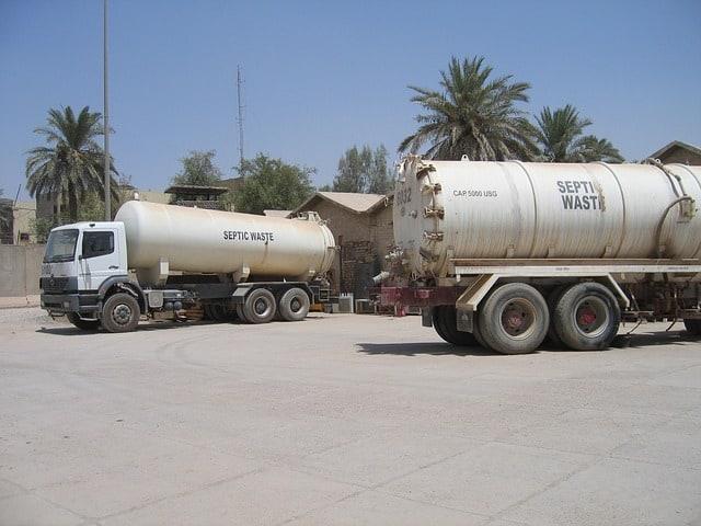Septic Tank Service Trucks