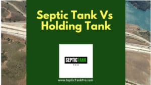 What is the difference between a septic tank and holding tank