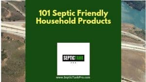 101 septic safe product banner