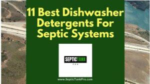 dishwasher detergents banner for septics
