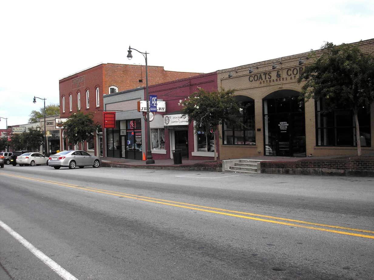 Douglasville Ga Commercial Historic District Photo
