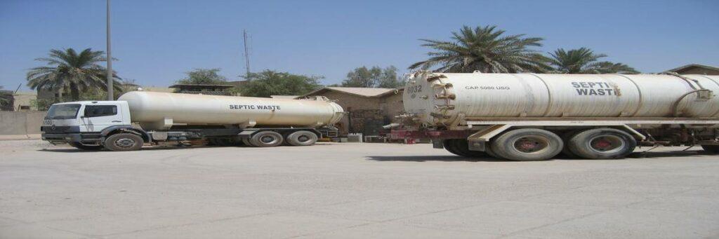 Lehigh Acres Florida Septic Tank Trunks on Site