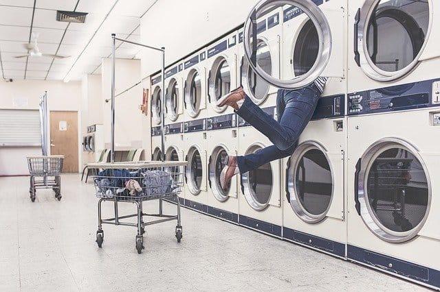 multiple washing machines image